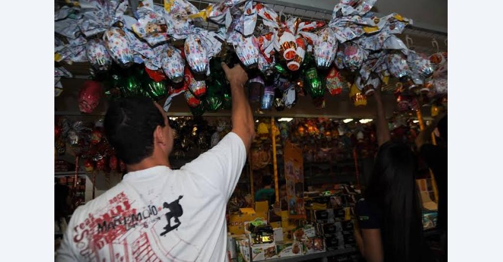 Sindloja solicita aberta abertura temporária de empresas que comercializam produtos comestíveis para a Páscoa